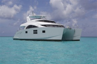 View large version of image: 60 Sunreef Power Yacht FOREVER to be showcased at Miami Yacht & Brokerage Show 2014