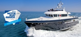 View large version of image: Darwin Class 96' Yacht STELLA DI MARE nominated for Motor Boat of the Year Award 2014