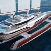 Pi Yachts and McPherson Yacht Design present 80m sailing trimaran DRAGONSHIP 80