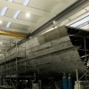 Construction of Wider 150' superyacht proceeding well at Wider Yachts