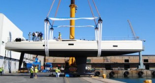 View large version of image: Southern Wind Shipyards launch second SW82 superyacht GRANDE ORAZIO