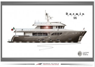 View large version of image: New superyacht Darwin Class 96-02 sold by Cantiere delle Marche