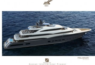 View large version of image: Letter of Intent for a 68m Superyacht signed by CRN