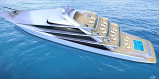 View large version of image: New 70m superyacht SPIRA concept unveiled by Scott Henderson