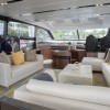 Interior of Princess luxury yacht S72