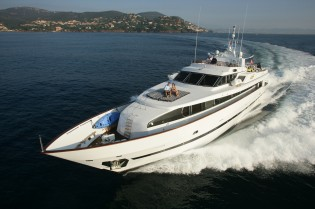 View large version of image: Antibes Yacht Show 2014 to feature Azimut 110 superyacht AVELLA
