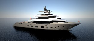 View large version of image: First Oceanic Yachts 140' superyacht sold