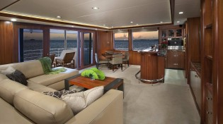 View large version of image: Destry Darr shortlisted for IY&A Award 2014 with superyacht AURORA