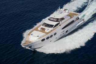 View large version of image: Majesty 105 Yacht LE MUST by Gulf Craft among IY&A Awards 2014 Finalists