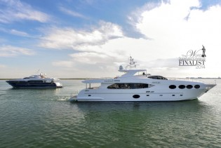 View large version of image: Gulf Craft superyacht LE MUST nominated for WSA 2014