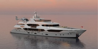 View large version of image: Contract for new Custom 164' (50M) Series superyacht signed by Christensen