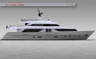 View large version of image: Sanlorenzo to launch new superyacht SD110 in April