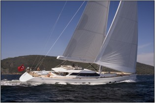 View large version of image: IY&A Awards 2014 Finalist: Oyster 125 superyacht TWILIGHT