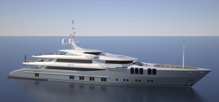 View large version of image: Sunrise Yachts signs contract for new 68m mega yacht Project SKYFALL