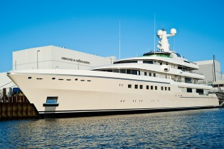 View large version of image: 81.8m mega yacht KIBO (Project 6497) launched by Abeking & Rasmussen