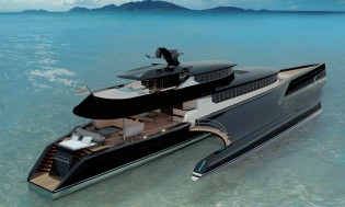 View large version of image: New BCY 60m superyacht concept by Blue Coast Yachts