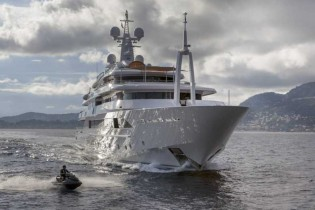 View large version of image: 80m CRN mega yacht CHOPI CHOPI wins ShowBoats Design Award 2014