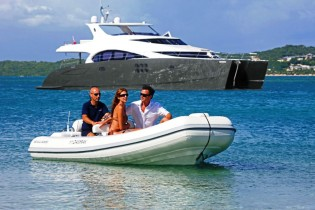 View large version of image: 70 Sunreef Power Yacht DAMRAK II to be showcased by Singapore Yacht Show 2014