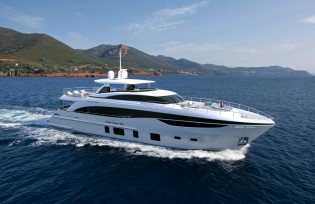 View large version of image: Princess Yachts releases new renderings of Princess 35M Yacht