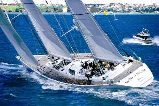 View large version of image: Antibes Yacht Show 2014 to feature superyacht MARI CHA III