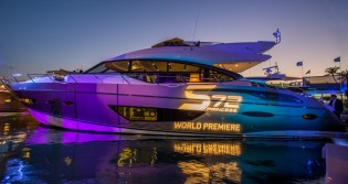 View large version of image: Fusion of colour added to Princess S72 Yacht by Wild Group