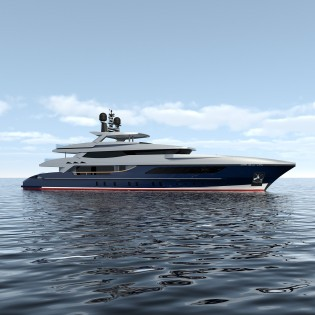 View large version of image: Baglietto signs contract for sale of 46m displacement yacht