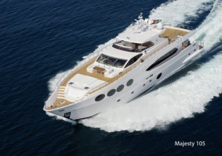 View large version of image: Gulf Craft launches new superyacht Majesty 105
