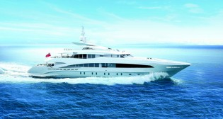 View large version of image: Heesen launch 50m superyacht MONACO WOLF (Project AZURO, YN 16650)