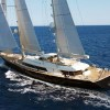 RSB Rigging Solutions hosting 56m Perini Navi superyacht ASAHI for rig refit