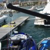 Foldable Carbon-Fiber Davits for Lifting Jet Skis