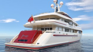 View large version of image: ISA 54M superyacht FOREVER ONE