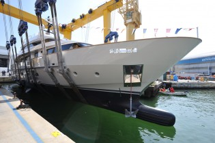 View large version of image: Sanlorenzo launches SD112 superyacht 'O'