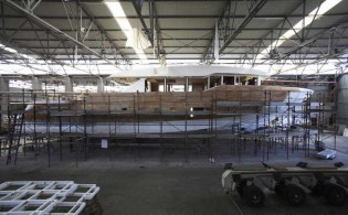 View large version of image: Works on Oceanic superyachts proceeding well