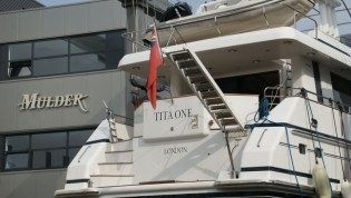 View large version of image: Mulder 70 Futura Yacht TITA ONE to undergo major refit at her home yard