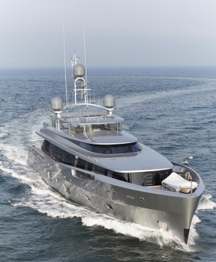 View large version of image: Delivery of Dubois-designed 46m superyacht COMO