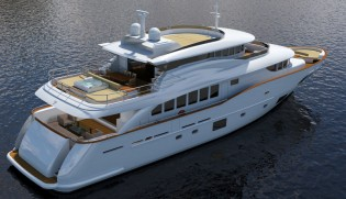 View large version of image: Filippetti Yacht working on Navetta 30 superyacht GATSBY