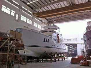 View large version of image: Delivery of 10th Norhavn 86 superyacht KOONOONA