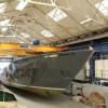 Hull section for first Princess 35M Yacht released from mould