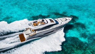 View large version of image: Princess Yachts releases first official exterior images of S72 Yacht