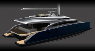 View large version of image: Sunreef Yachts unveils new superyacht Sunreef 92 Double Deck