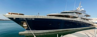 View large version of image: 71m Sevmash mega yacht VICTORIA to be completed by ISA Yachts
