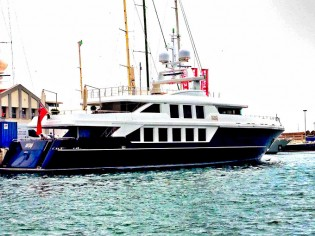 View large version of image: Baglietto superyacht NATORI relaunched by STP