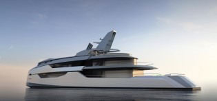 View large version of image: 58m superyacht Project U58 designed by Bannenberg & Rowell