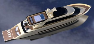 View large version of image: Latest superyacht PRIMO 103 design by IP.YD studio