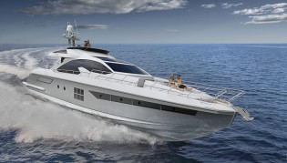 View large version of image: Azimut Yachts introduces new superyacht Azimut 77S