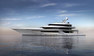 View large version of image: Feadship working on new 70m Bannenberg & Rowell Superyacht