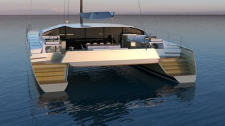 View large version of image: Le Breton Yachts additionally develops 24m superyacht SIG80 design