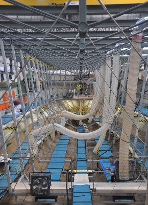 View large version of image: Laying of the keel of 'Sunseeker 155 Yacht' superyacht Hull #2