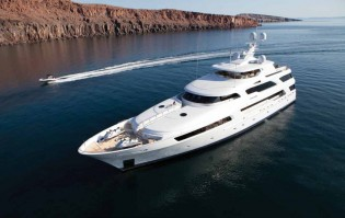 View large version of image: New England Yacht Charter Special aboard 50m Mega Yacht ARIANNA this August