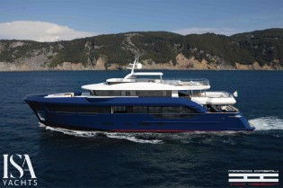 View large version of image: New ISA Berlinetta superyacht series concept designed by Marco Casali Too-design